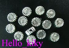 200Pcs  Tibetan silver sunflower spacer beads A500