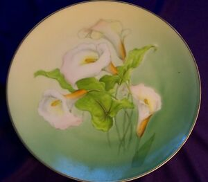 CALALILY DECORATIVE PLATE