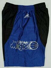 Rare Vintage APEX ONE Orlando Magic NBA Basketball Color Split Gym Shorts 90s XL