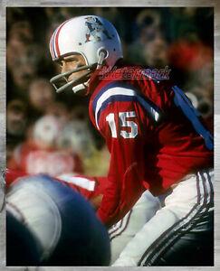 AFL 1965 Boston Patriots QB  Babe Parilli Game Action Color 8 X 10 Photo Picture