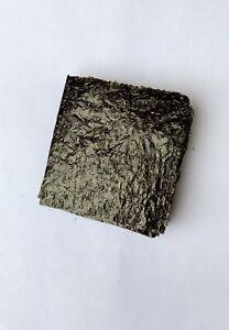 100 Sheets Grade A Dried Nori seaweed Marine, aquarium fish food,Tangs 4 X 4
