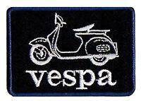 Ecusson patche thermocollant Vespa scooter patch blason brodé
