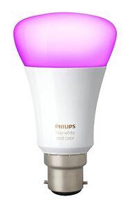 Philips Hue 3rd Generation Richer Colours B22 Single Bulb