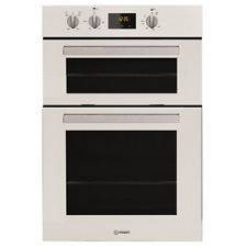 Indesit Aria IDD6340WH A Rated Built in Electric Double Oven in White