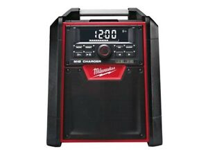 New Milwaukee 18V AC/DC Bluetooth Jobsite Radio Charger M18RC.