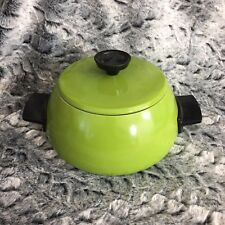Nesco New Vintage Green Aluminum Fondue Pot