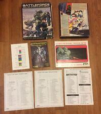 Lot WSP-1A WASP BATTLETECH Battleforce Fasa nova COMBAT BOOK GAME Stat Card Box