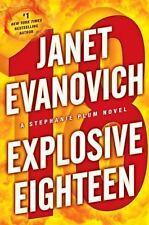 Janet Evanovich EXPLOSIVE EIGHTEEN Unabridged CD-Brand New