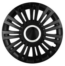 "15/"" rifiniture ruota Hub Caps per Mini One Cooper BMW Union Jack 4x15/'/' Argento"
