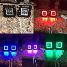 Led Pods Cubes Multicolor Halo Kit  Rgb Led Light Bar Color Changing