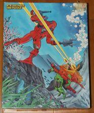 Vintage 1986 Centurions Cartoon Show Figure Jigsaw Puzzle Incomplete 199 Pieces