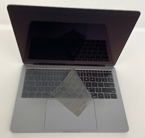 """Gray Keyboard Cover for Function Key Macbook Pro 13"""" A1708  with Retina display"""