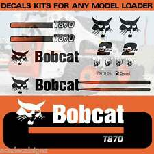 T450 T550 T590 T630 T650 T750 T770 T870 Decals Stickers Bobcat track loader