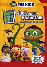 Super Why!: Jack and the Beanstalk and Other Story Book Adven (2009, DVD New) WS