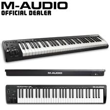 More details for m-audio keystation 61 mk3 studio live usb-midi keyboard controller with software