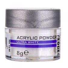 Powder Acrylic White  8g / The Edge nails / Supreme Quality  Porcelain nails