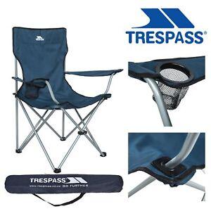 Trespass Folding Fishing Chair Camping Garden Picnic Seat Settle
