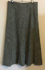 Marks & Spencer Size 14 Ladies Green Skirt