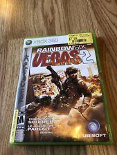 Rainbow Six Vegas 2 Xbox 360 Game Complete VC6