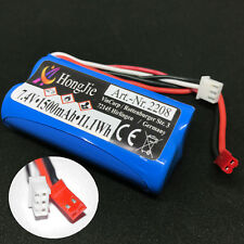 Batterie Li-Ion 7,4 V 1500mAh Piles JST RC helicopter F645 MJX F-45 Revell Amewi