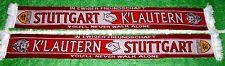 """Kaiserslautern Stuttgart Schal """"FREUNDSCHAFTSSCHAL"""" 2 Ultra Fan Pfalz Teufel neu"""
