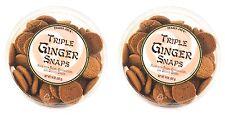 Trader Joe's Cookies Triple Ginger Snaps Fresh & Ground Snack 28 OZ Total 2-PACK