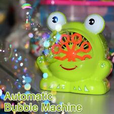 Seifenblasenmaschine Kinder Seifenblasenkanone Luftblasenmaschine Blasenmaschine