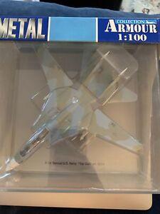 ARMOUR F-14 TOMCAT U.S. NAVY TOP GUN #5214 DIECAST PLANE *NEW