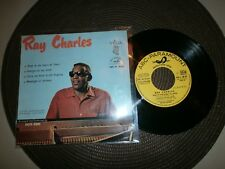 FRENCH EP VEGA ABC 45 90.871 YELLOW / RAY CHARLES / DEEP IN THE HEART... / 1960