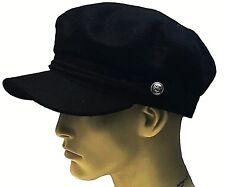 05ab05527c5 Fiddler Breton Cap Hat 70% Wool Greek Fisherman Sailor Barge Mariner Mens  Ladies