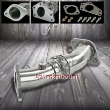 "2.5"" Stainless Steel 5-Bolt Flex Up Pipe for Subaru 05-09 Legacy GT 2.5L Turbo"
