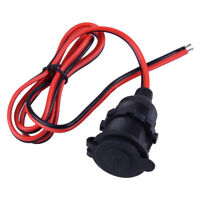 Car Cigarette Lighter Female Socket Adapter Plug Connector Cable waterproof Cap