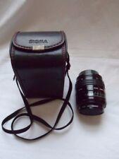 SIGMA ZOOM Auto focus Lens 1:35 ~ 4.5 f = 28 ~ 70 mm/Hakuba Filtre UV/Sigma Lens Case