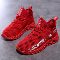 Kids Sneaker Mesh Breathable Athletic Running Tennis Shoes Sneakers Hiking Shoes