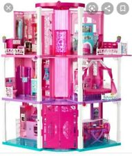 Barbie 3 story dream House w Elevator, furniture and accessories.