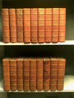 The International Library Of Famous Literature (Vols 1-4, 6 + 8-10) - 18  Books!