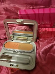 Mary Kay Signature Cheek Color Blush ISLAND SPICE DUET With COMPACT & BRUSH NIB