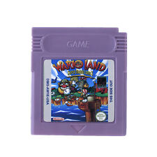 Wario Land Super Mario Game Boy Color GBC / GB / GBA / SP de videojuegos