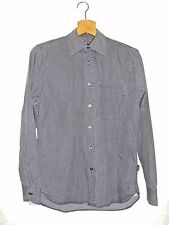 Paul Smith Jeans Men's Grey & Purple Pattern Shirt Size Small Authentic