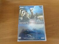 Nature's Great Events DVD (2009) Brian Leith cert E 2 discs  and FREE P & P