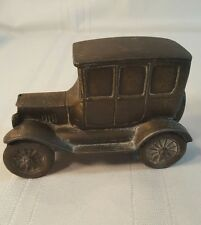 Vintage Banthrico 1970s Metal Car Still Coin Bank 1926 Model T Ford Chicago 220