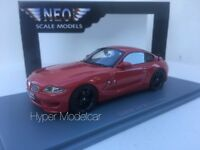 NEO SCALE MODELS 1/43 Bmw Z4 M Coupè 2009 Red NEO44466