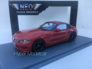 Neo Scale Models 1/43 BMW Z4 M Coupé 2009 Rouge NEO44466