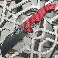 """VDK Red 3"""" Goat Mini Flipper Knife"""