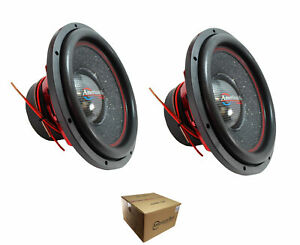 """Pair of American Bass Competition 15"""" 6000 Watt Dual 4 Ohm Subwoofer Hawk 1544"""