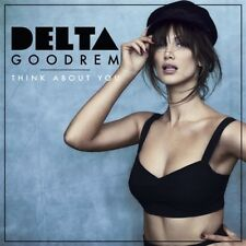 DELTA GOODREM Think About You (Personally Signed by Delta) CD Single NEW