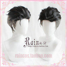 HOT YURI!!! on ICE Otabek Altin Short Hair Slicked-back Cosplay Wig Halloween
