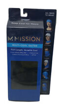 "*NEW* Mission Multi-Cool Gaiter Size 10"" x 21"" Color Black"