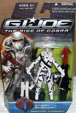 2009 Hasbro GI JOE Rise of the Cobra Storm Shadow Artic Threat 3.75 Inch Action