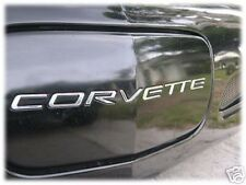 C5 Corvette Front Bumper Letter Insert Kit